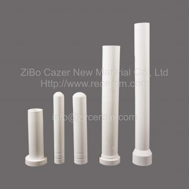Non-wetting By Aluminum Alloys Aluminum Titanate Ceramic Casting Tube