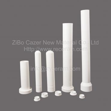 Aluminum Titanate Ceramic Lift Tube For Aluminum Die Casting