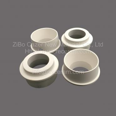 Aluminum titanate ceramic sprue bushings