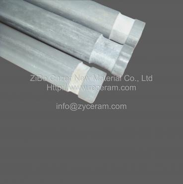 good thermal shock resistance thermocouple protection ceramic tube for Thermocouple